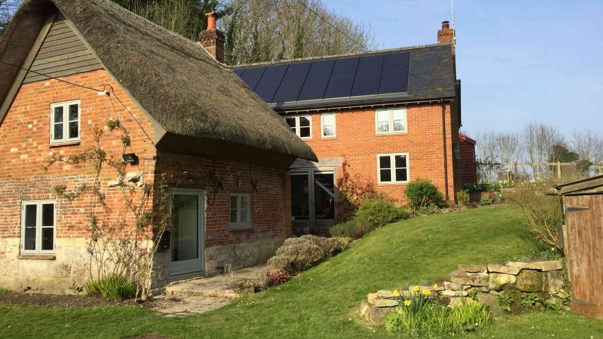 In-roof Solar PV Retro-fitted (Spring 2017)