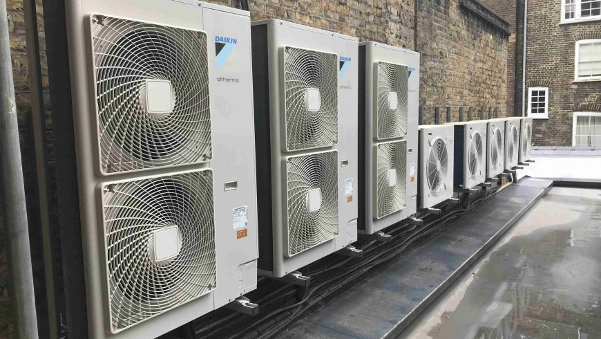 Heating & Cooling for London Luxury Apartments (Winter 2018)