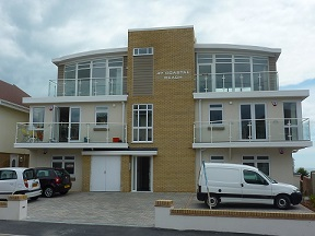 Heat Pumps for Luxury Eco-apartments on the Dorset Coast (Spring 2012)