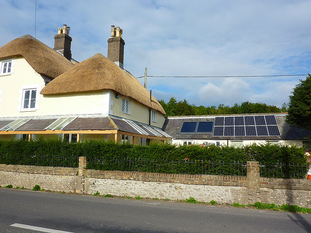 Integrated heat pump and solar for Dorset Cottage (Summer 2010)