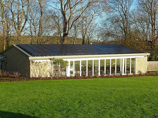 Dorset Solar PV Installation for Holiday Company (Autumn 2010)